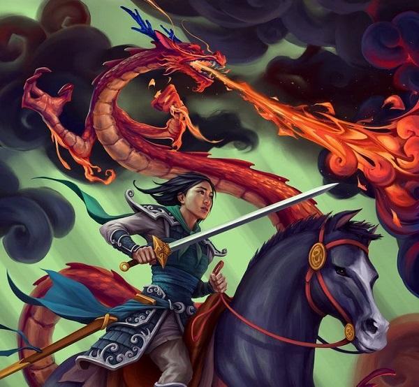 mulan 2020 el poderoso dragon mushu